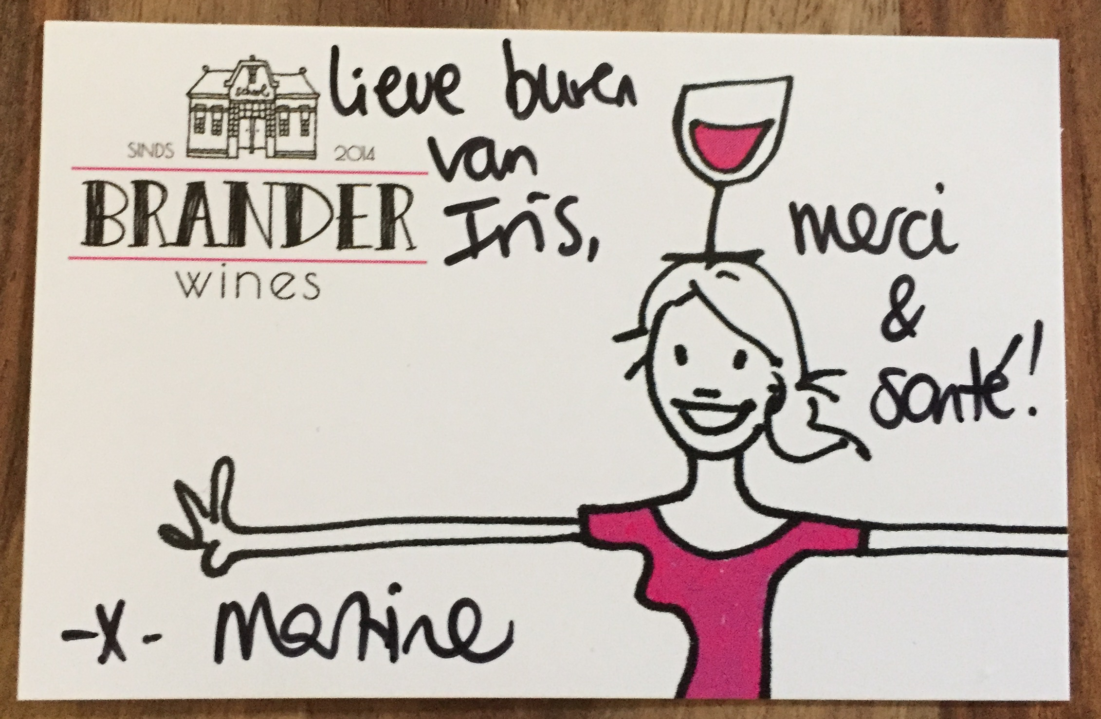 brander wines klantbeleving